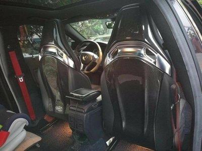 ⚡ BENZ W176 W117 W205 碳纖 碳纖維 椅子 椅背 RECARO A45 CLA45 C63 AMG