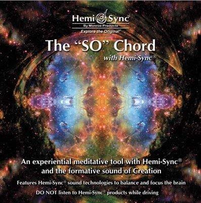 """[心靈之音]空無之聲:「索」和弦The """"SO"""" Chord-美國孟羅Hemi-Sync雙腦同步CD-美國原裝進口新品"""