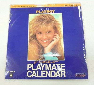 LD Playboy Playmate Calendar 1992 經典寫真之作,珍貴超級絕版收藏典藏版,超過27年的九成五新收藏品,只有一套,敬請把握!!