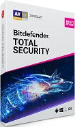 比特凡特 防毒 Bitdefender Total Security 2019 多平台旗艦 1年10設備 (英文下載版)