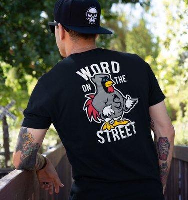 【丹】J!NX_SHROUD WORD ON THE STREET PREMIUM TEE 絕地求生 吃雞 男版 T恤