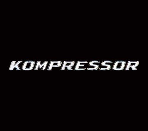 金螃蟹賓士 SLK R170 鍍鉻後車廂字體  KOMPRESSOR  SLK200 SL