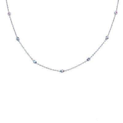 【JHT金宏總珠寶/GIA鑽石專賣】天然鑽石項鍊/材質:18K(JB51-A09)