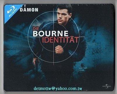 【BD藍光】神鬼認證 1:限量鐵盒版The Bourne Identity(台灣繁中字幕)