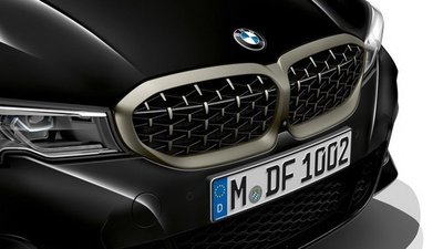 【樂駒】BMW G20 G21 鈰色 原廠 網狀 水箱罩 改裝 套件 空力 外觀