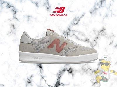 【H-Sneaker】全新 NEW BALANCE 米白紅 灰粉橘 米白 灰白 麂皮 休閒 復古 女鞋 WRT300RP