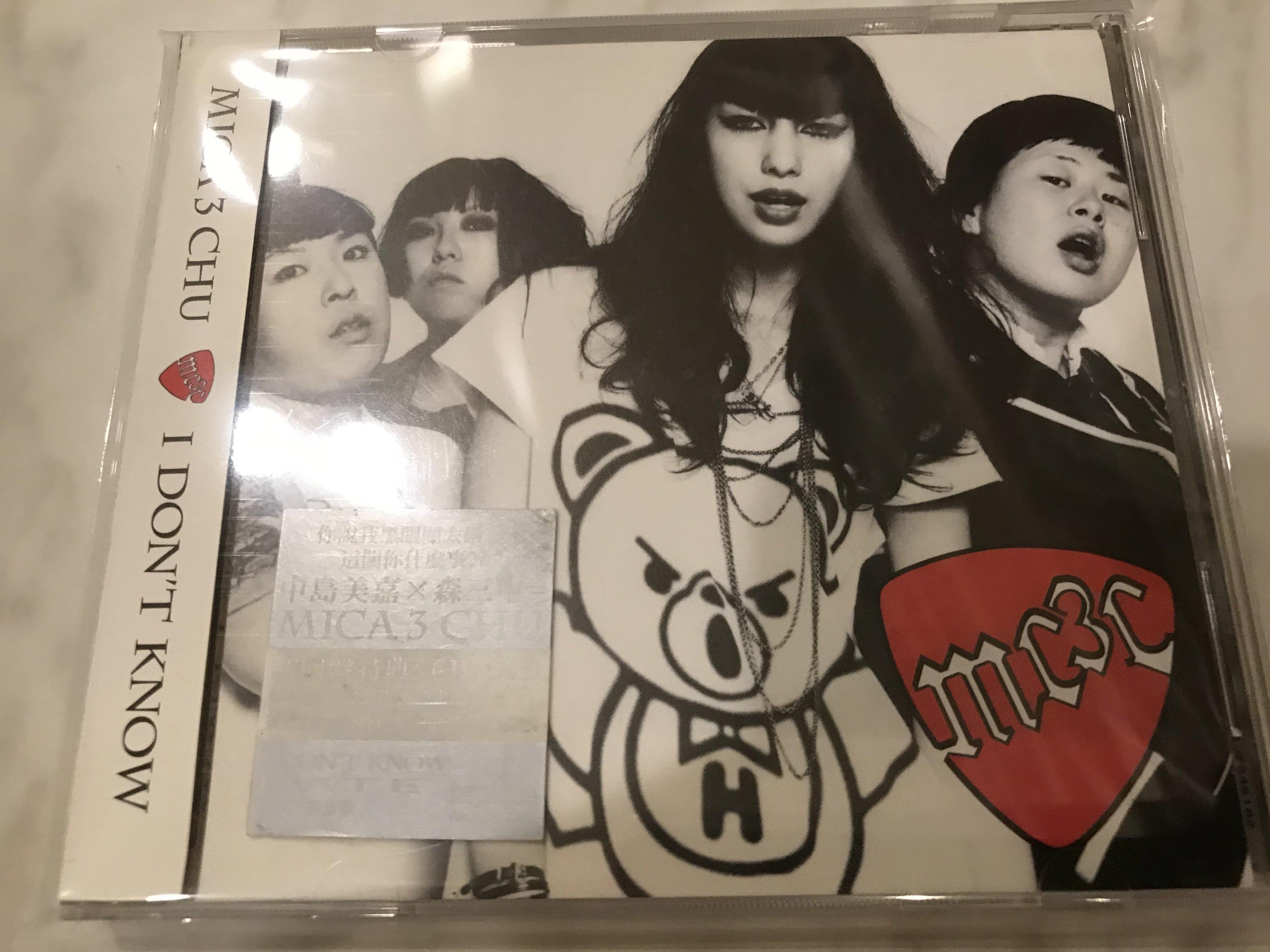 台灣新力 CD+DVD初回限定盤 中島美嘉 Mika 森三中/MICA 3 CHU-I Don t Know/ 附側標