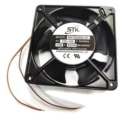 小白的生活工場*STK (SA12038S1HL) 110V/ AC 風扇12X12X3.8cm 鐵框材質 新北市