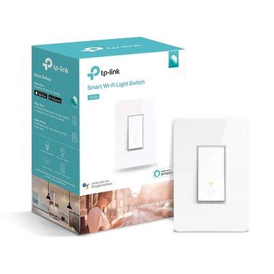 照明開關- TP-Link的Kasa智能Wi-Fi燈開關 (美國亞馬遜熱銷商品當地販售價USD51.07元)