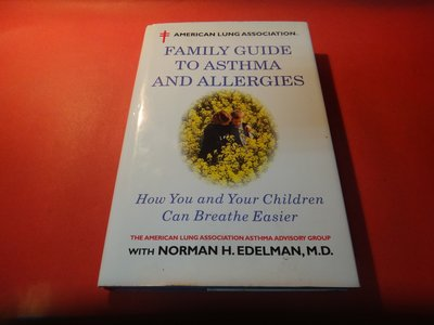 【愛悅二手書坊 26-11】FAMILY GUIDE TO ASTHMA AND ALLERGIERGIES