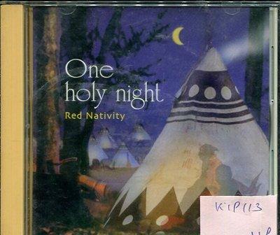 *真音樂* ONE HOLY NIGHT / RED NATIVITY 日版 二手 K19113