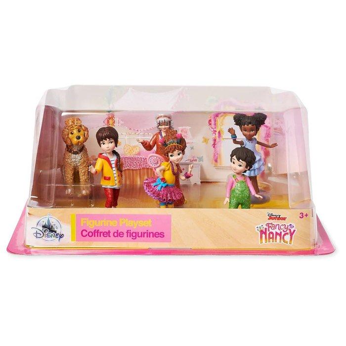 【美國大街】正品.美國迪士尼小俏妞妮妮克蘭西公仔組 小俏妞公仔6隻組 最高5吋 / 12.7cm