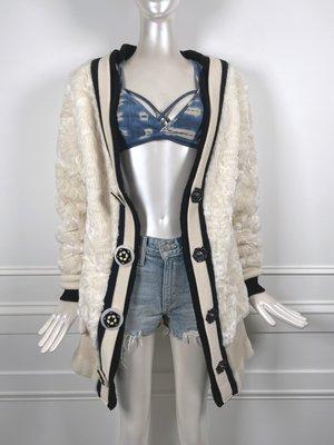 [我是寶琪] 侯佩岑二手商品 全新未穿 TAMAKI FUJIE 短毛外套