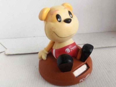 罕見! 【企業品牌: TREND micro趨勢科技】2006年PC-cillin產品限量版~緝毒犬搖擺娃娃/公仔/寶寶
