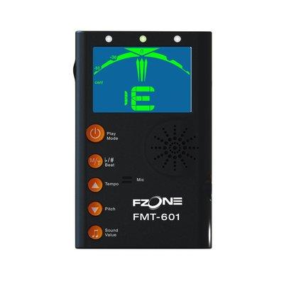 Fzone FMT-601 節拍調音器 節拍器 調音器 (黑色)-【黃石樂器】