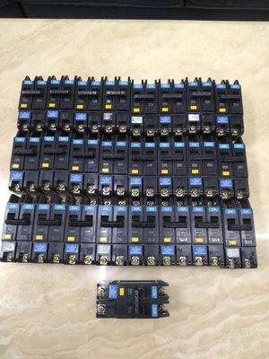 士林NFB/無熔絲漏電斷路開關NVB-50UL 2P20A 中古品 台中