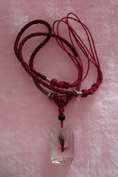 項鍊-平安符型臍帶紀念項鍊、胎毛項鍊
