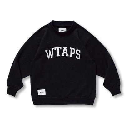 【W_plus】WTAPS 20aw -  COLLEGE / MOCK NECK / COPO