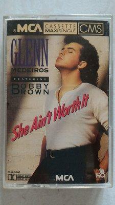 Glenn Medeiros - She Ain't Worth It 進口美版 單曲