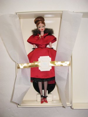 silkstone RAVISHING IN ROUGE 夢斷紅塵ST 金標珍藏版芭比娃娃