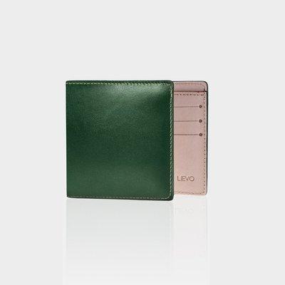 [ LIEVO ]  GRACE-  水蠟皮短夾   (  三色  )