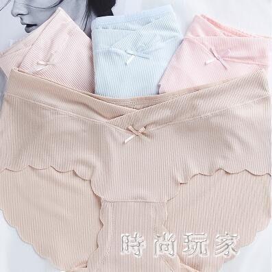 中大尺碼 孕婦內褲低腰不抗菌褲頭透氣內衣女夏 ZB849