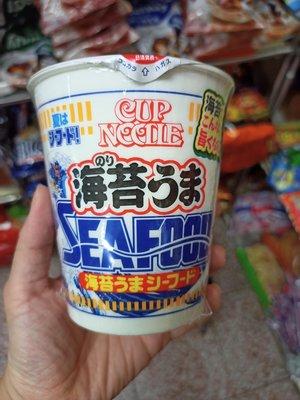 ?日本日清期間限定-海苔風味海鮮杯麵
