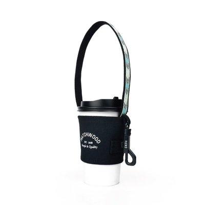 【Matchwood直營】 Matchwood Cup Sleeve 民族風格 掛勾式環保杯套 灰藍圖騰款 買五送一