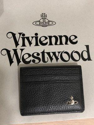 [chin] 英國帶回 Vivienne Westwood 土星 名片夾 卡片夾 專櫃 全新正品