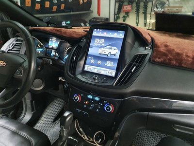 Ford 福特 KUGA 10.4吋 豎屏 專用機 Android 安卓版觸控螢幕主機 導航/USB/方控/倒車
