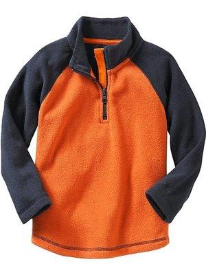 ╭☆°芒果衣櫃 全新Baby Gap Micro fleece mock neck top 保暖上衣 5T