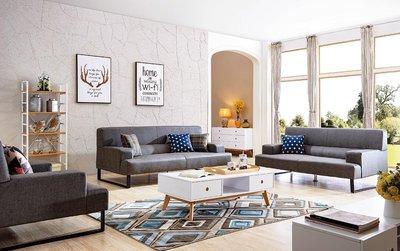 【在地人傢俱】18 利利購-歐風868型耐磨皮1+2+3獨立筒沙發全組 YS305-1