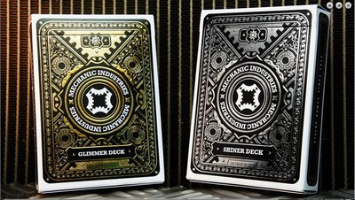 【USPCC撲克】Metallic Deck Set (Limited Edition) by Mechanic Industries
