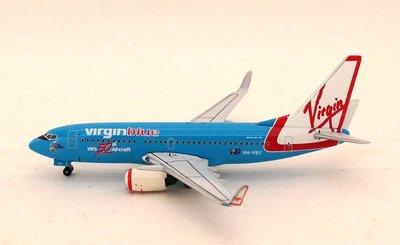 "B737-700 Virgin Blue ""VBs 50th Aircraft Blue"" 英國 維珍藍航空"