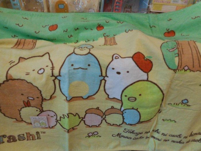 ~~凡爾賽生活精品~~全新日本進口角落生物森林樹屋造型大浴巾