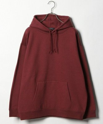 日本RAGEBLUE  刷毛 長袖 連帽T恤  深紅 UNIQLO,GAP,HOLLISTER,BEAMS,HARE