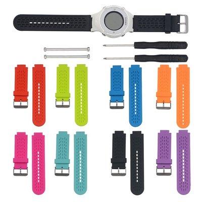 丁丁 佳明 Garmin Approach S2 S4 GPS Golf Watch 簡約純色智能手錶矽膠錶帶 替換腕帶