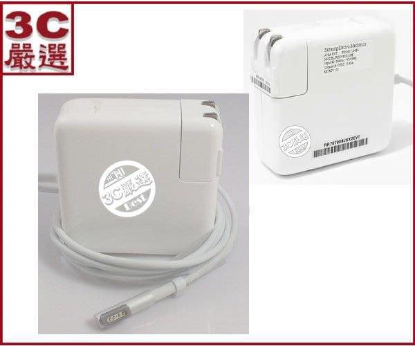 3C嚴選-APPLE 筆記型電腦 充電器 變壓器 電源供應器 13 MACBOOK Pro 60W MagSafe 磁彎頭