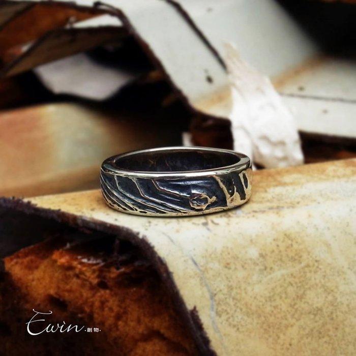 【Matrix 純銀戒指/細版】925純銀戒指/電路圖/尾戒/情侶對戒【Ewin創物】