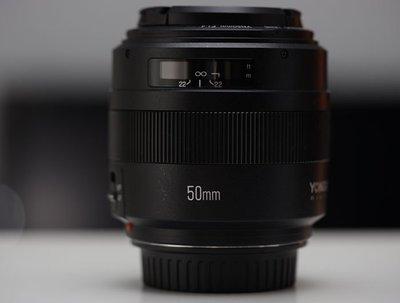 YONGNUO 永諾 YN 50mm F1.4 for canon (二手)