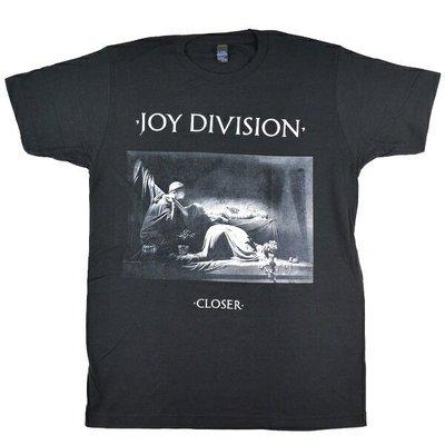 【小阿哥】JOY DIVISION Closer Black /T-SHIRT/短T/復古/流行