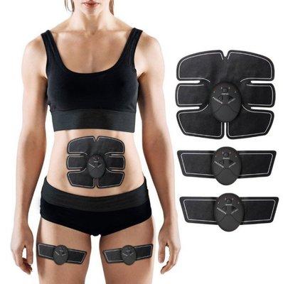 【6件整套組】腹肌神器貼片 手臂貼片 按摩腹肌神器健腹器 運動健身貼片 腹肌貼片 智能腹肌器C羅啞鈴單槓 健身器材臂肌貼