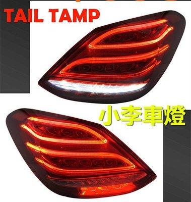 ~李A車燈~全新品  賓士 BENZ W205 尾燈 LED 低階改高階後燈 C180 C200 C250 C300 台南市