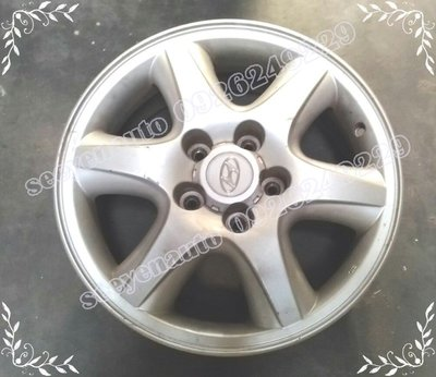 現代汽車Hyundai Tucson 16吋 5孔114.3 中古二手原廠鋁圈