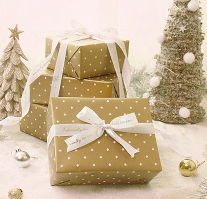 ≡☆包裝家專賣店☆≡ Merry X,mas   聖誕節 包裝用品 包裝紙-  微光星辰  【30入/包】
