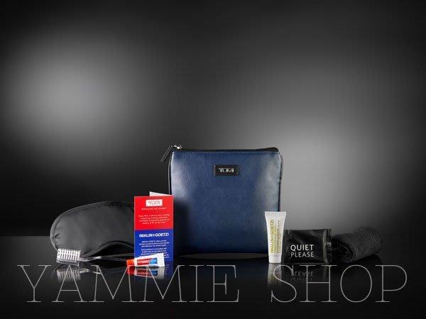 (含全套內容物)軟皮&防水 TUMI &達美航空 盥洗包 過夜包 旅行收納包 3C整理包 (TBH22)