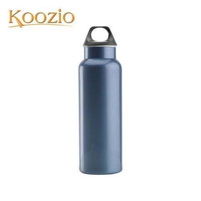 Koozio經典水瓶600ml (寶格藍) (不鏽鋼水瓶/水壺 /不銹鋼杯/ 隨手杯/ 環保杯) Koozio原廠專賣