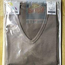 (現貨不用等)妮芙露 負離子 UW 163 男士 薄短袖上衣 尺寸:M  咖啡色   滿萬有折扣