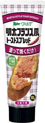日本 明太子   吐司醬Mentai Style Toast Spread  新包裝從八十改為一百克