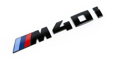 【樂駒】BMW X3 G01 原廠 Lettering black painted 黑色 字標 後車廂 行李箱